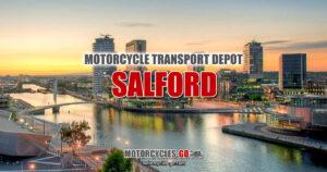 Motorcycle Transport Depot Salford Manchester England OG01