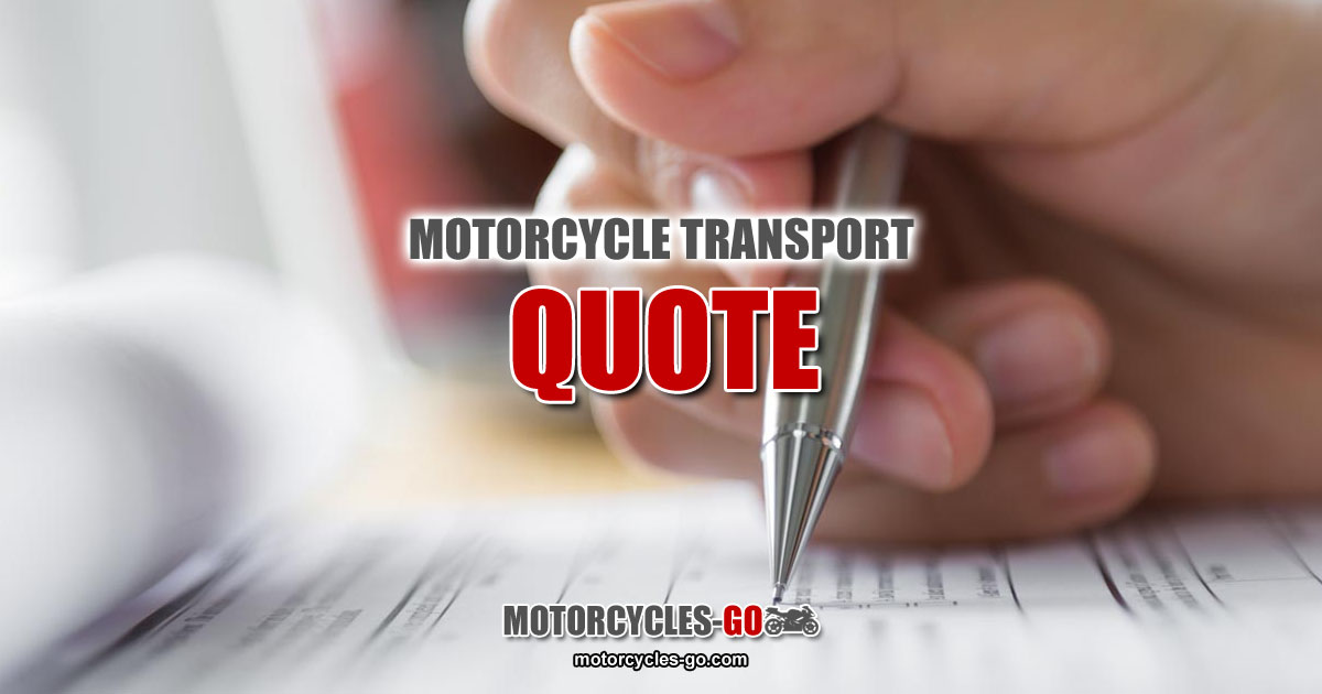 Motorcycle Transport Quote OG01
